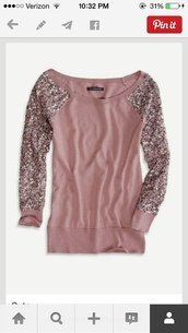 sparkle,sparkly sleeves,sweater