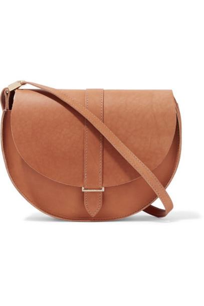 Clare V. tan bag shoulder bag leather