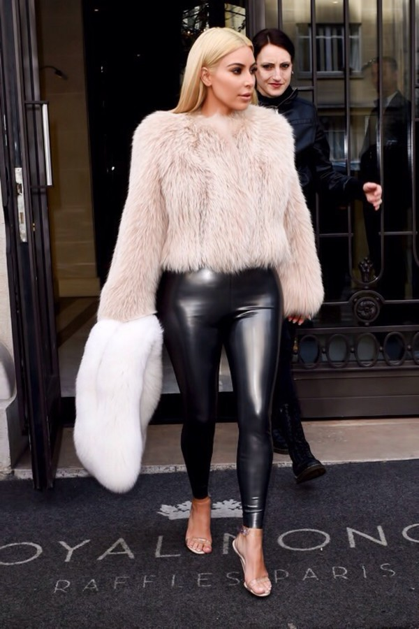Kim kardashian leather pants will not
