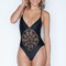 Frankies bikinis black poppy | black frankies bikinis one piece swimsuit