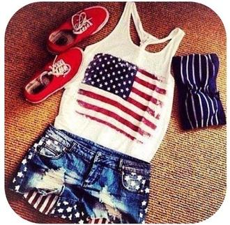 shorts american flag shorts american flag july 4th denim shorts