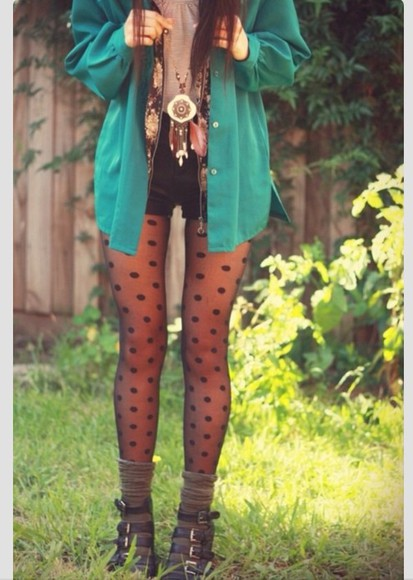 jewels shorts pants blouse tumblr polka dots dreamcatcher cardigan feathers