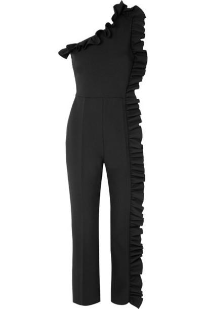 MSGM jumpsuit black