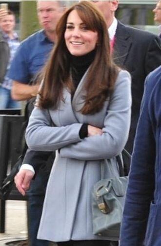 kate middleton grey grey coat