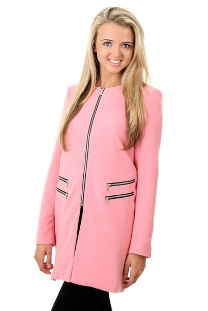 Lucy S Boutique Bloggers Fave Zip Zara Pink Baby Blue