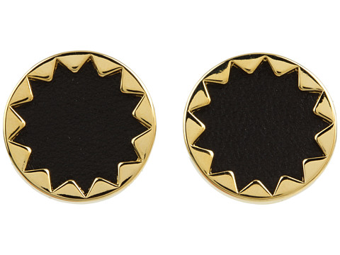 House of Harlow 1960 Sunburst Button Earrings 14K Yellow Gold Plated - Zappos.com Free Shipping BOTH Ways