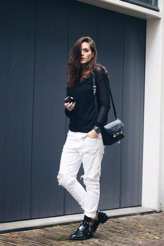 moderosa jeans top shoes bag