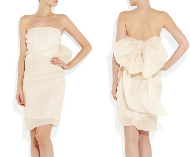самые красивые платья до колен для свидетильницы фото