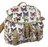 Amazon.co.uk: Roche Butterfly Print Rucksack / Backpack / School Bag in Beige -- SWANKYSWANS: Explore similar items