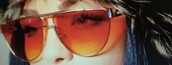 sunglasses,orange tint,frames