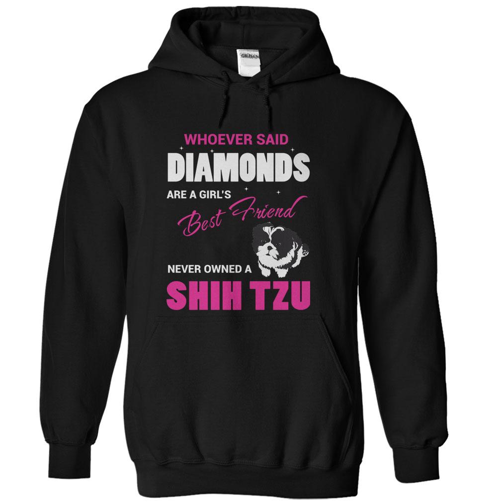 A Shih Tzu Is A Girls Best Friend T-Shirt & Hoodie