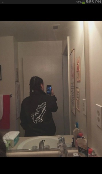 Drake 6god black jacket