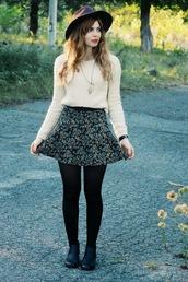 secret garden,blogger,tights,skirt,shoes,jewels