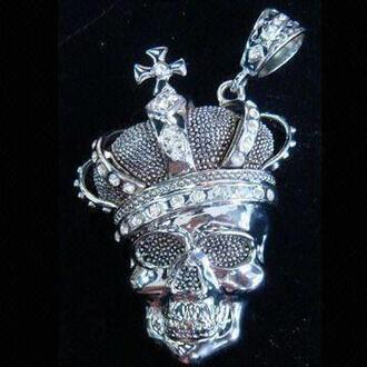 jewels skull pendant