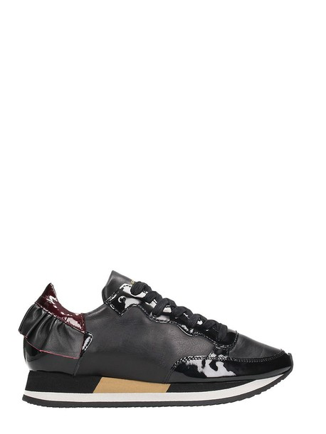 Philippe Model sneakers lace black shoes
