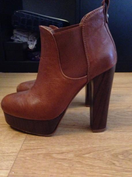 shoes heels brown black boots boho style in love. Black Bedroom Furniture Sets. Home Design Ideas
