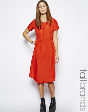 Glamorous Tall | Glamorous Tall  Oversized Smock Dress at ASOS