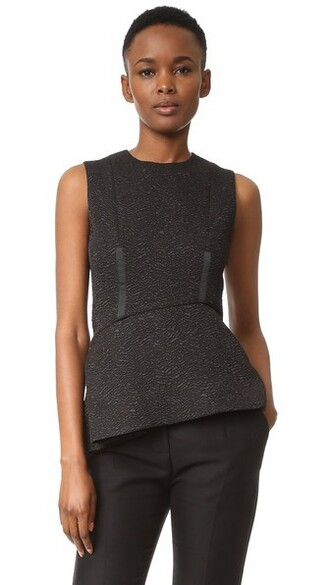 top sleeveless top sleeveless black