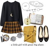 jewels,moon,necklace,pendant,skirt
