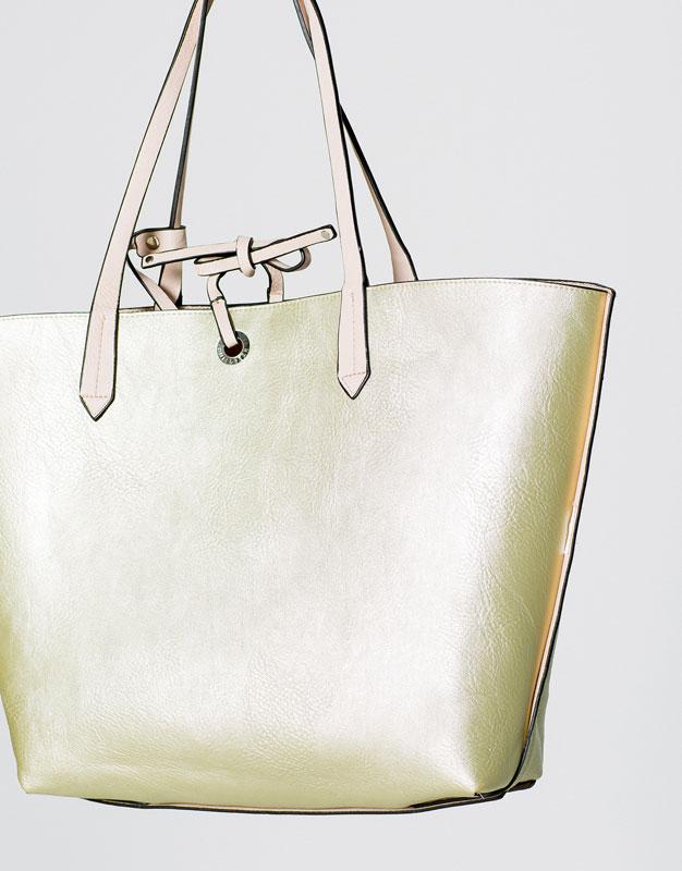 REVERSIBLE TOTE BAG - BAGS & WALLETS - WOMAN - PULL&BEAR France