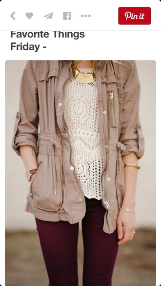 jacket anorak pinterest fashion