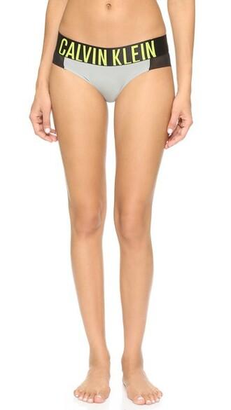 bikini grey lime swimwear