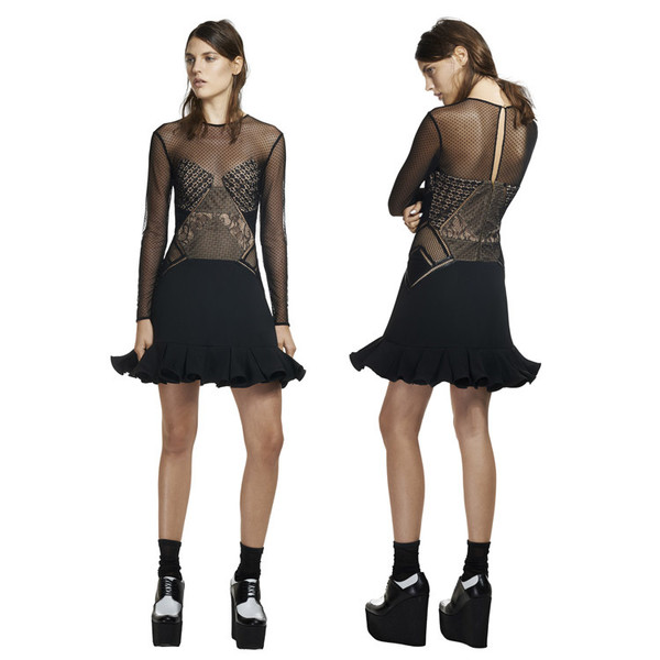 lace dress fashion dress
