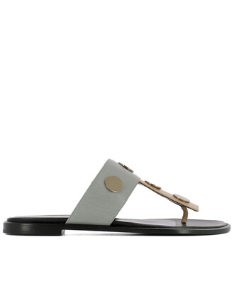 sandals leather sandals leather grey shoes