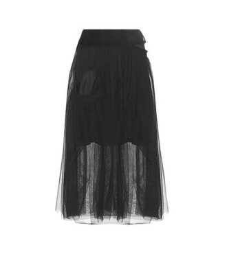 skirt tulle skirt blue