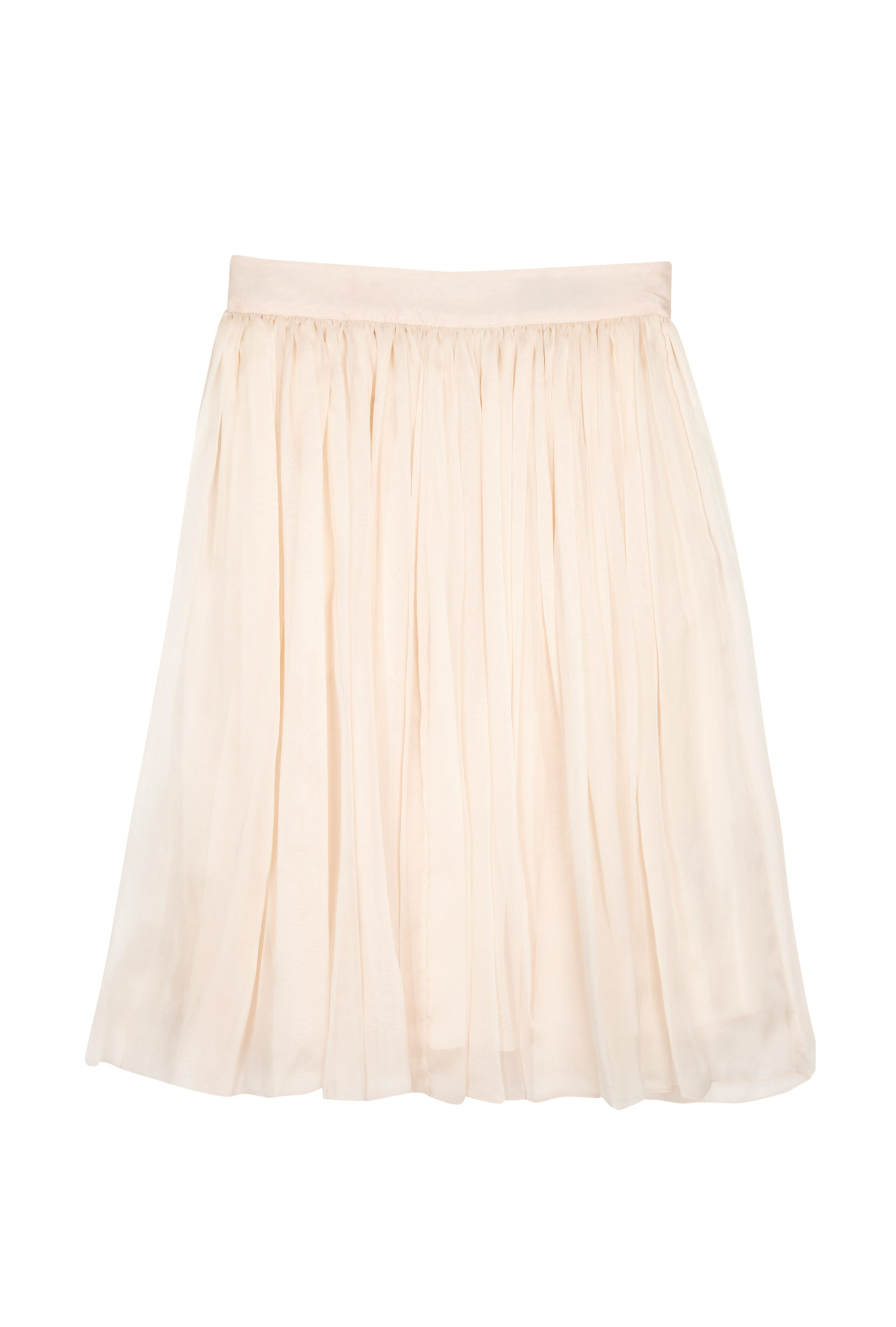Blush hand ironed pleated skirt by d&g
