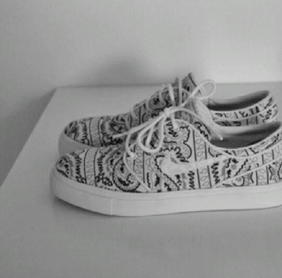 shoes nike white basket grey baskets