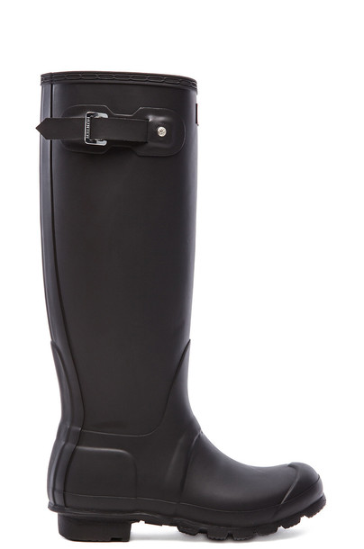 Hunter Original Tall Rain Boot in black