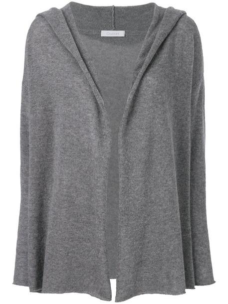 Cruciani cardigan cardigan open women grey sweater