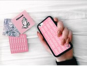 phone cover,music,iphone,phone,drake,1800 hotline bling,bling,pretty,pink