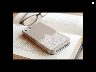 phone cover iphone 5 case dentelle