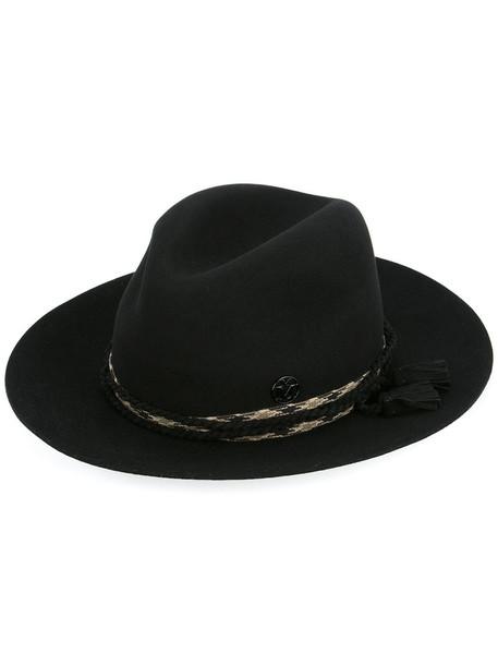 Maison Michel tassel women hat cotton black