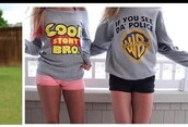 shirt,style,cool,grey,toy story,chic,fashion,long sleeves,grey t-shirt