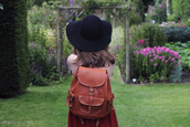 foxtail and fern,leather backpack,bag,shoes