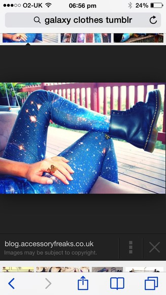 galaxy pants galaxy leggings leggings