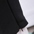 Black Elastic Simple Loose Pant - Sheinside.com