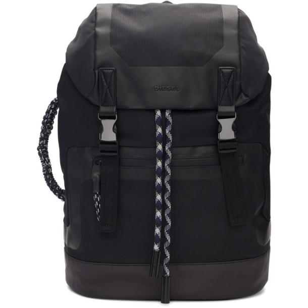 Diesel Black Suse Backpack