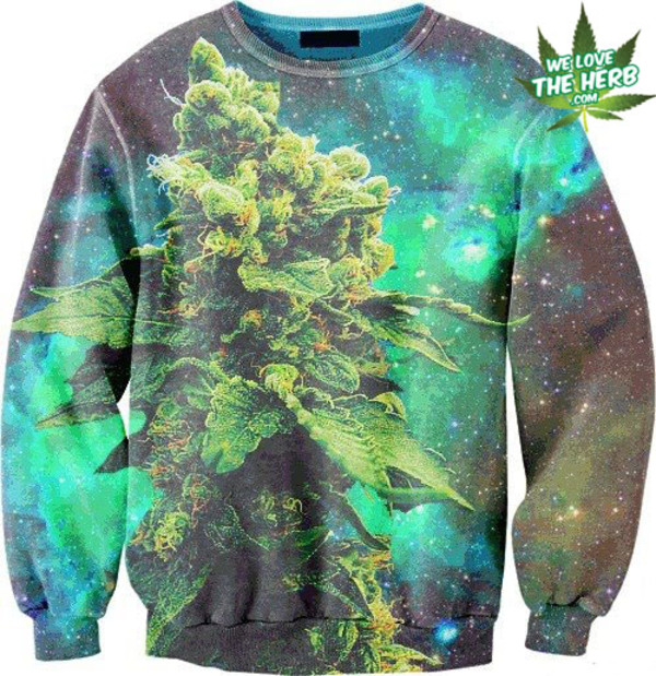 sweater menswear sweater weed