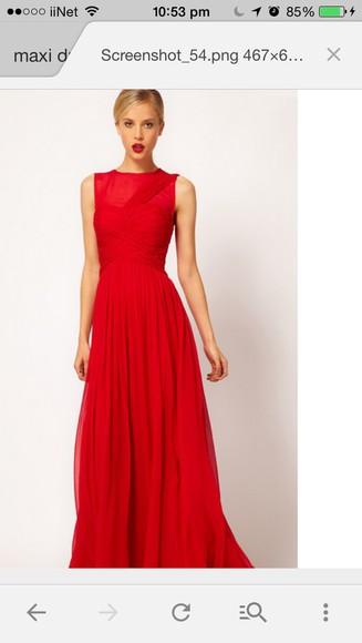 dress formal dress reddress promdress longdress