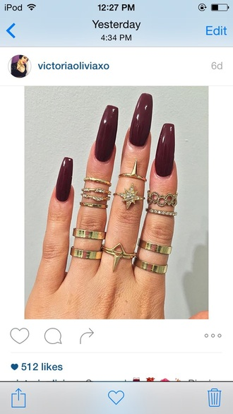 jewels jewelry gold knuckle ring ring rings and tings gold ring stacked ring ring stack