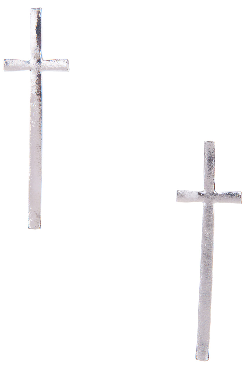ROMWE | Metal Cross Earrings, The Latest Street Fashion