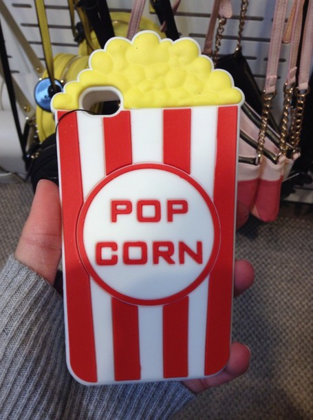 phone cover pop corn