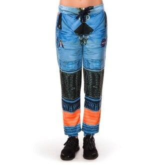 pants printed joggers space suit astronaut suit joggers sweatpants space suit sweatpants astronaut suit sweatpants