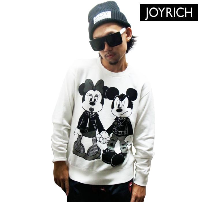 BPM | Rakuten Global Market: JOYRICH (Mickey Mouse No1) x PUNK DISNEY MICKEY & MINNIE CREW (WHITE)