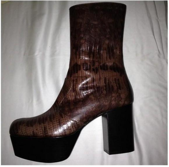 shoes platform shoes grunge grunge shoes