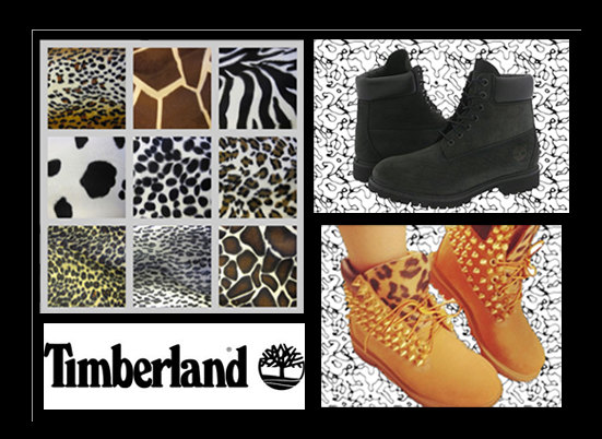 customize your own timberlands